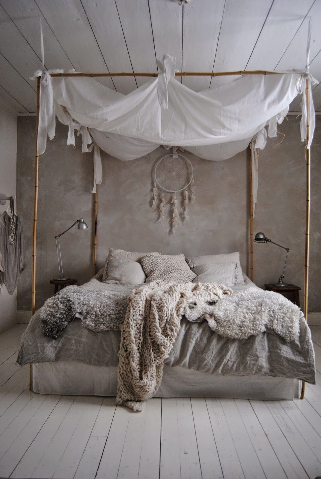 The Canopy Type Bed Is Also Another Typical Kind Of Item Seen Within Boho Style I Do Love These Beds As They Really Bring A Dreamy Beauty Feel