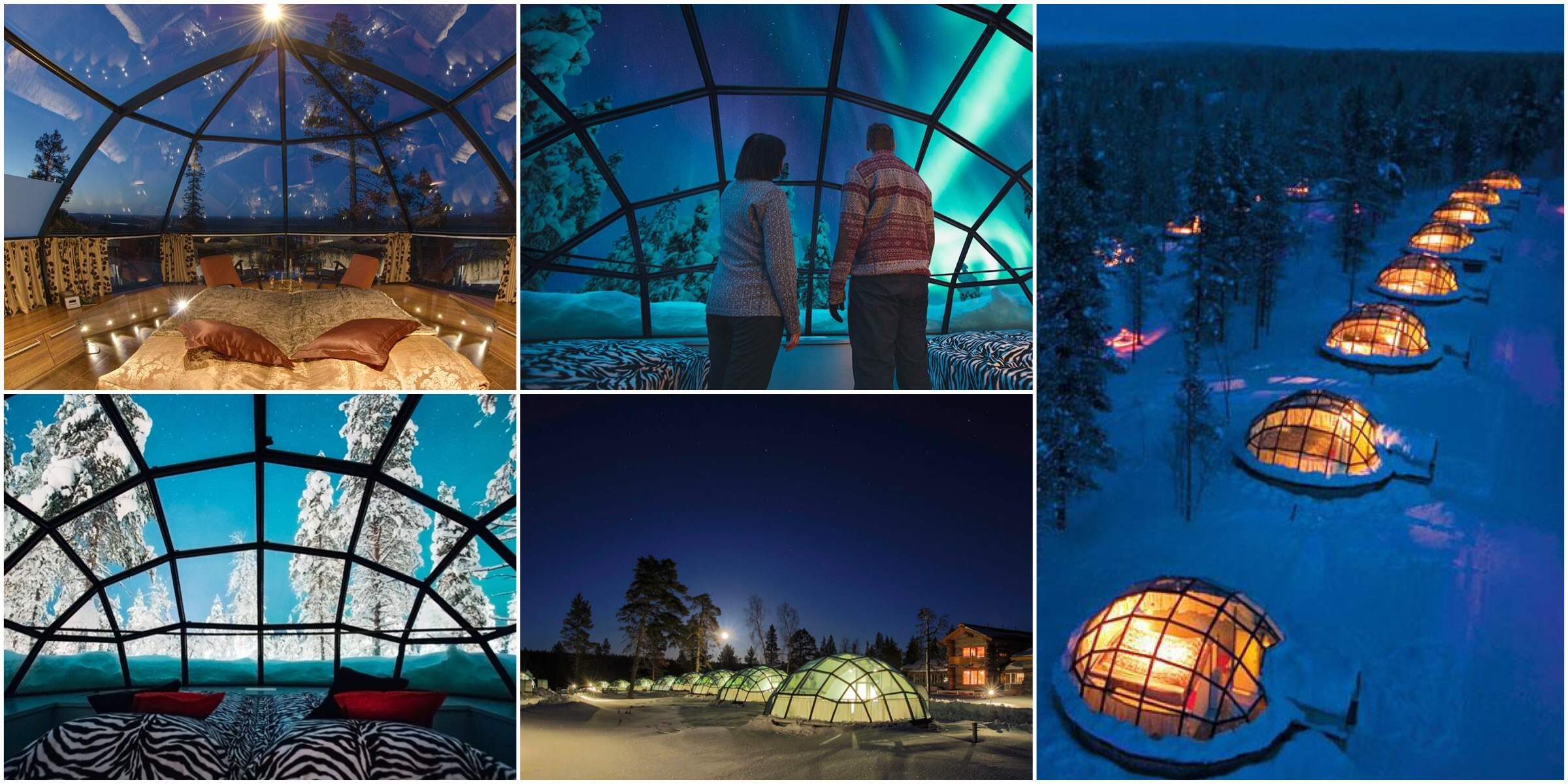 Igloos in finland unique hotels for Unique hotels near me